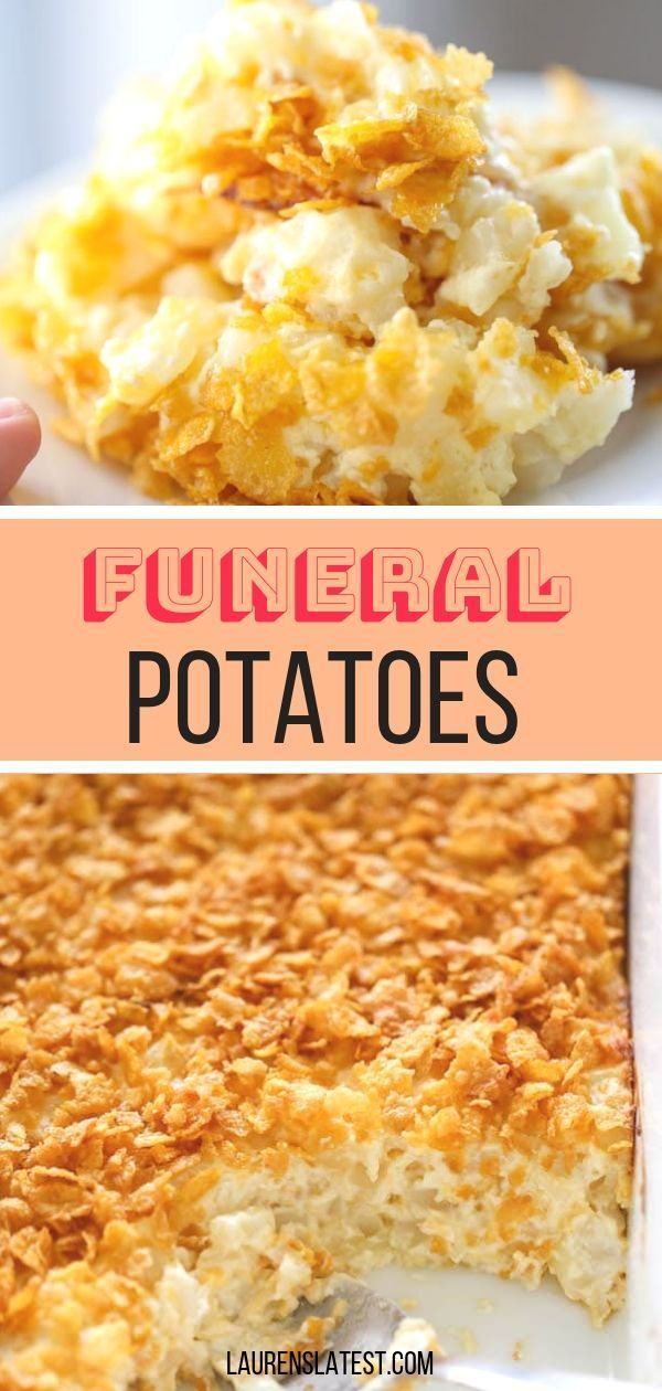 Mar 23, 2020 – Funeral Potatoes…everyone has a secret recipe for this popular hash brown casserole! Here is my creamy …