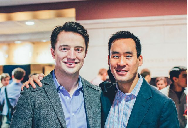 Venture capital firm Xfund is imploding, as its two partners -- Hugo Van Vuuren and Patrick Chung -- can't get along.