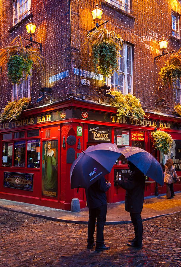 Dublin, Ireland...stood right there this October! One of the most fun nights we had was inside this pub!: