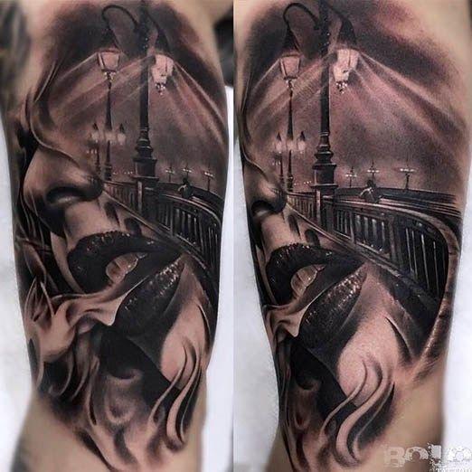 Bolo created this beautiful tattoo! #inked #inkedmag #tattoo #gorgeous #Idea #beautiful #lips #realism