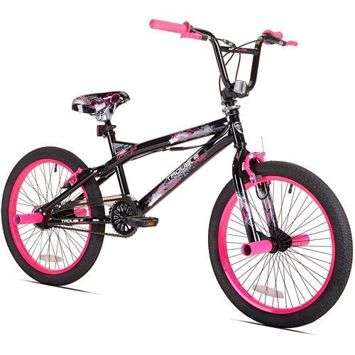kent 20 trouble bmx girls bike pink 50 at walmart