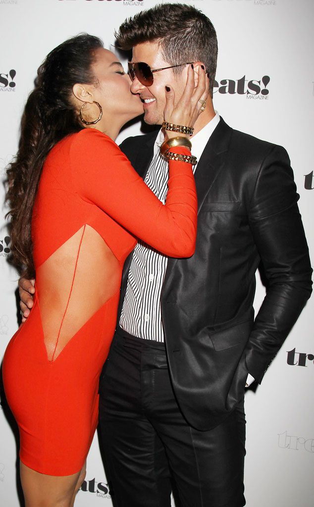 Paula Patton & Robin Thicke from The Big Picture: Today's Hot Pics! | E! Online