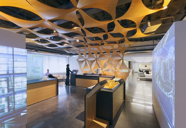 great ceiling #ceiling #concrete floor #SanDiegoOfficeDesign #SDOfficeDesign #gorgeousOffice #OfficeDesigner #interiorDesign #TamaraRomeo #BrandedDesign #bestofficedesign #office #commercial