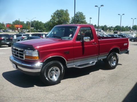 1995 Ford F150 Xlt Regular Cab 4x4 Data Info And Specs