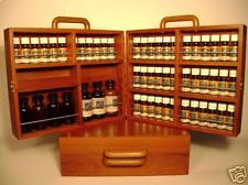 wood box for essential oils | Aromatherapy kit 48 essential oil box mothers gift wood