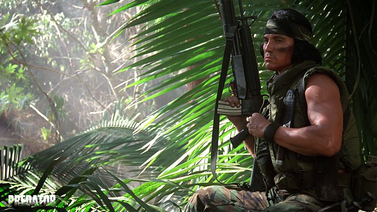 Main DnD Character Concept: Use for reference: Billy Concept: Sonny Landham from the movie Predator