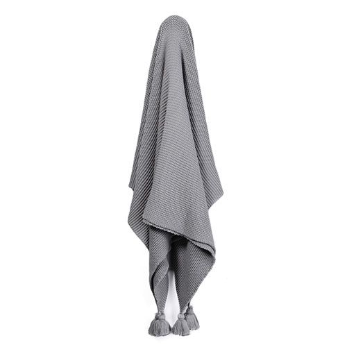 Casbah Throw Mid Grey