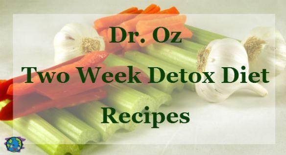 Dr. Oz 2 Week Rapid Weight Loss Diet Sample Meal Plan | Peaceful Planet Blog