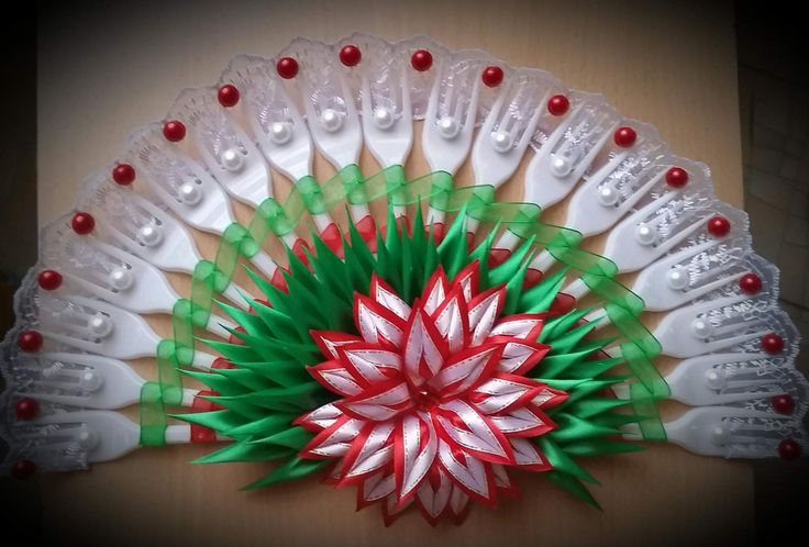 14 best plastic forks and spoons crafts images on for Crafts with plastic spoons and forks