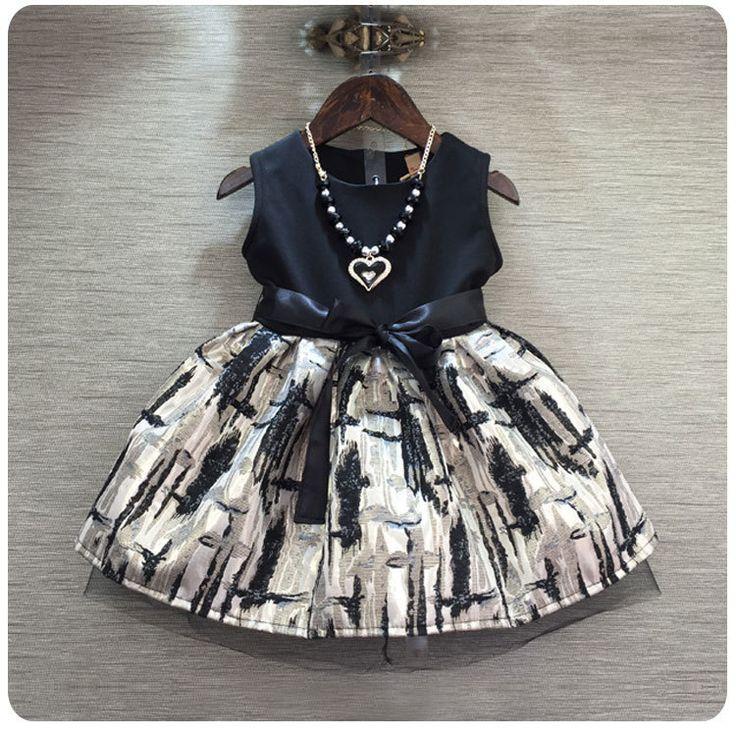 >> Click to Buy << Spring New Pattern 2016 Korean Children's Garment Baby Restore Ways Wind Split Joint Dress Girl Ribbon Awning Awning #Affiliate