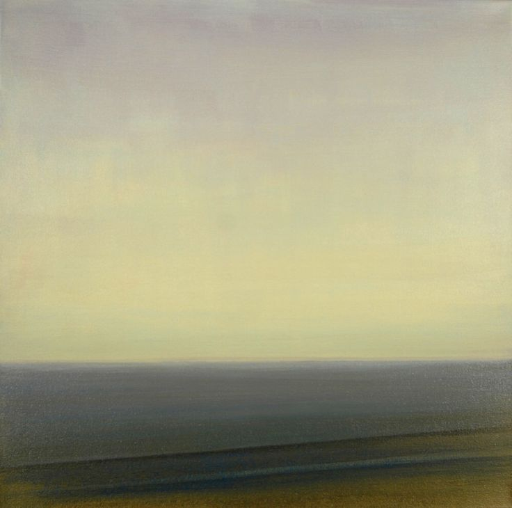 24x24 Large Seascape Large Original Art Ocean Painting Horizon Line Abstract Ocean Waves Sky Painting Sunrise Home Decor Minimalist Painting by ArtStudio316 on Etsy https://www.etsy.com/listing/190412435/24x24-large-seascape-large-original-art
