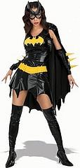 Sexy Batgirl Halloween Kostüm