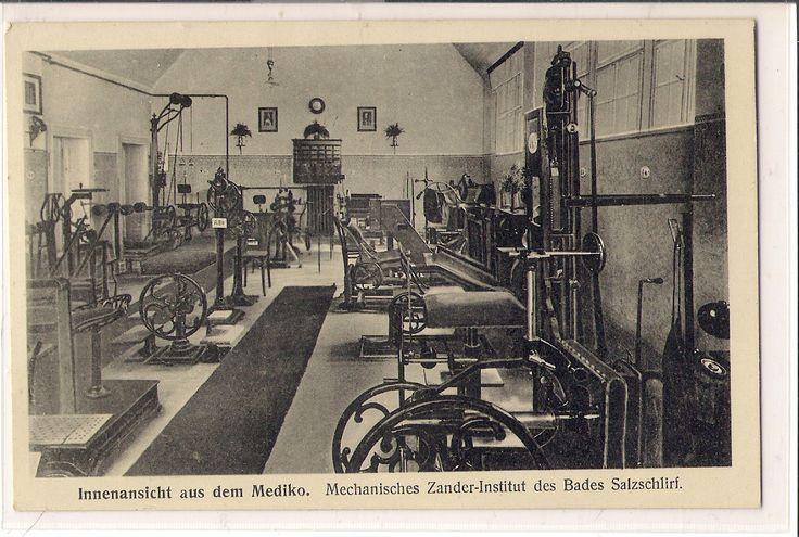 Zander Institut 1935. Heute würde man Fitnessstudio sagen