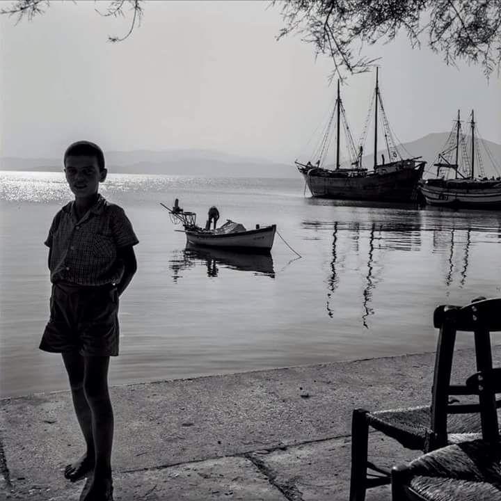 Ωρεοί, Εύβοια το 1963,  φωτ.Robert McCaber