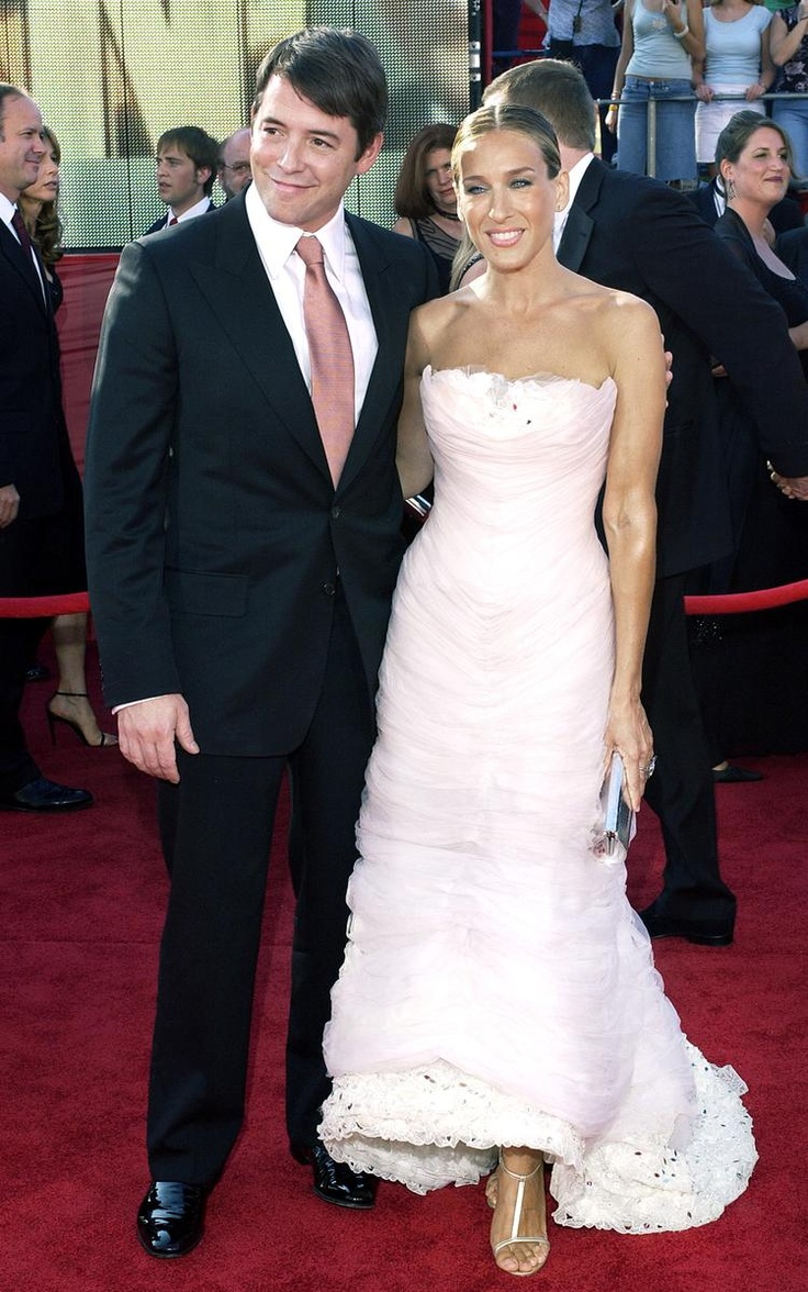 September 21, 2003  Where: With Matthew Broderick at the Emmy Awards.   What: Dress by Chanel; clutch by Lana Marks.
