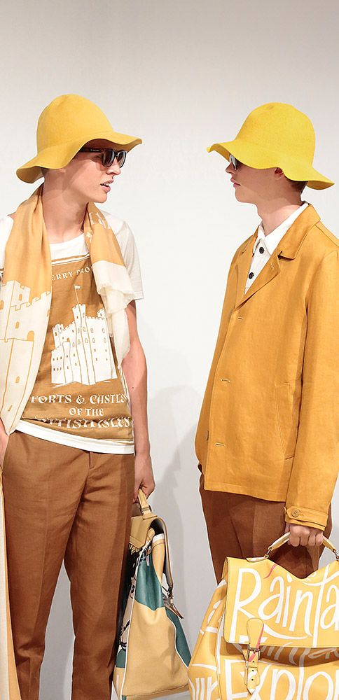 How can you resist? #Burberry SS15