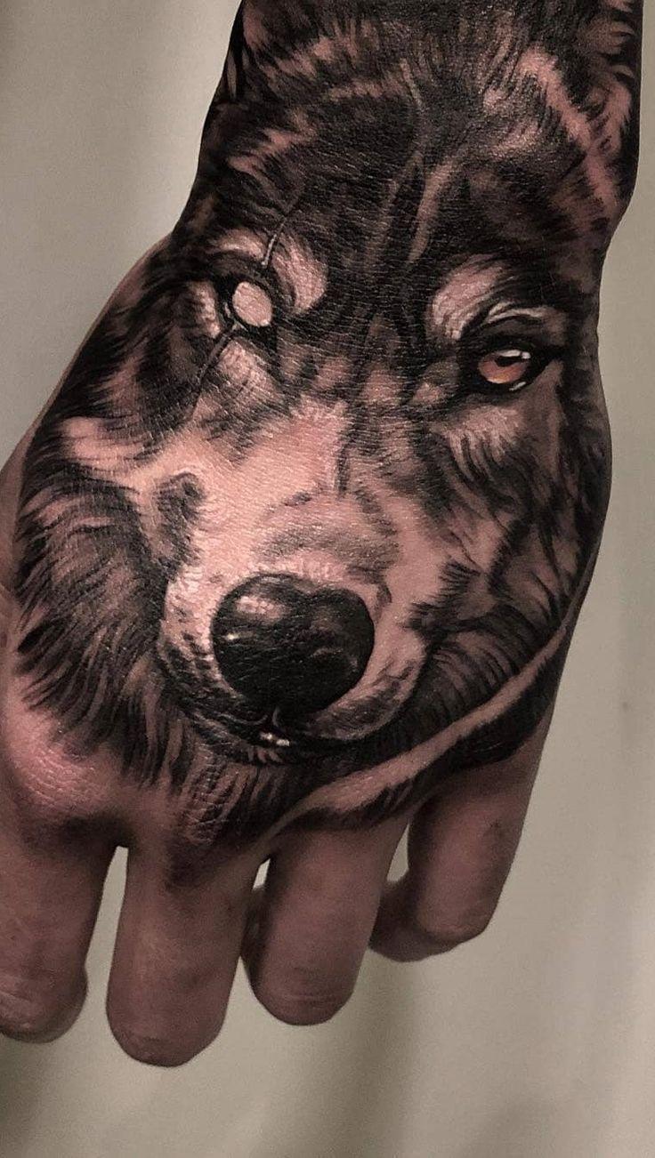 Die 230 besten Internet Wolf Tattoos [Femininas e Masculinas]