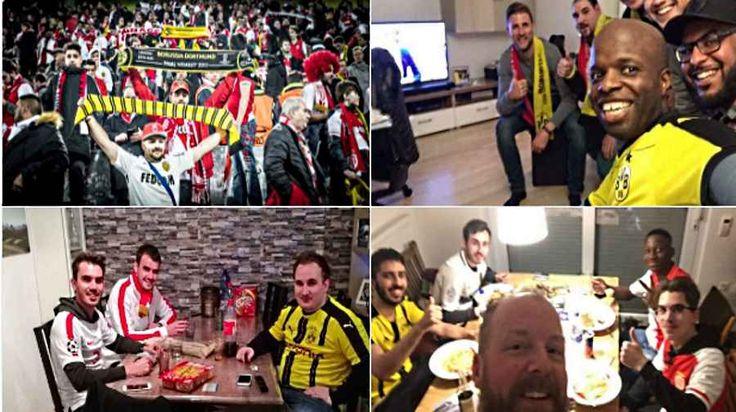 La risposta dei tifosi di Borussia Dortmund e Monaco al terrorismo: uniti, sempre! Le tre esplosioni contro il bus del Borussia Dortmund, la partita rinviata, la paura e lo shock, non hanno fermato lo spirito più sano e genuino del tifo. I supporter tedeschi hanno ospitato quelli f #borussiadortmund #monaco #tifosi