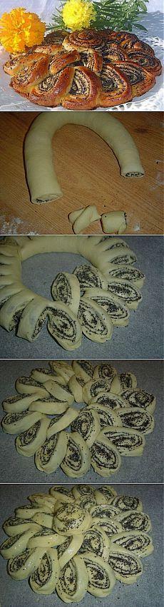 Как приготовить пирог с маком - рецепт, ингридиенты и фотографии