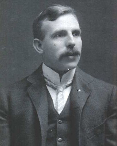 Ernest Rutherford, 1908.