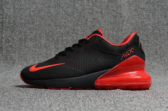 Nike Air Max 270 Elite Kpu Ah8050 010 Black Red Nike Air Max Red Nike Slip On Tennis Shoes