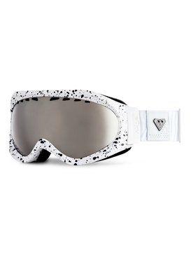 roxy, Mist - Masque de snowboard, WHITE (wbb8)