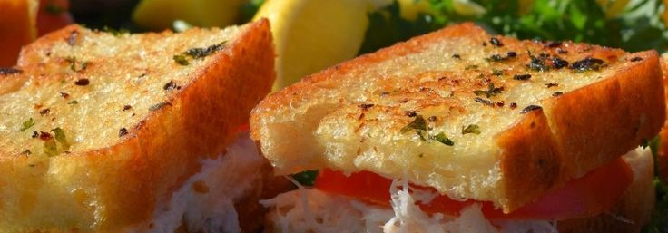 Centerplate introduces a fresh Dungeness crab sandwich on grilled sourdough