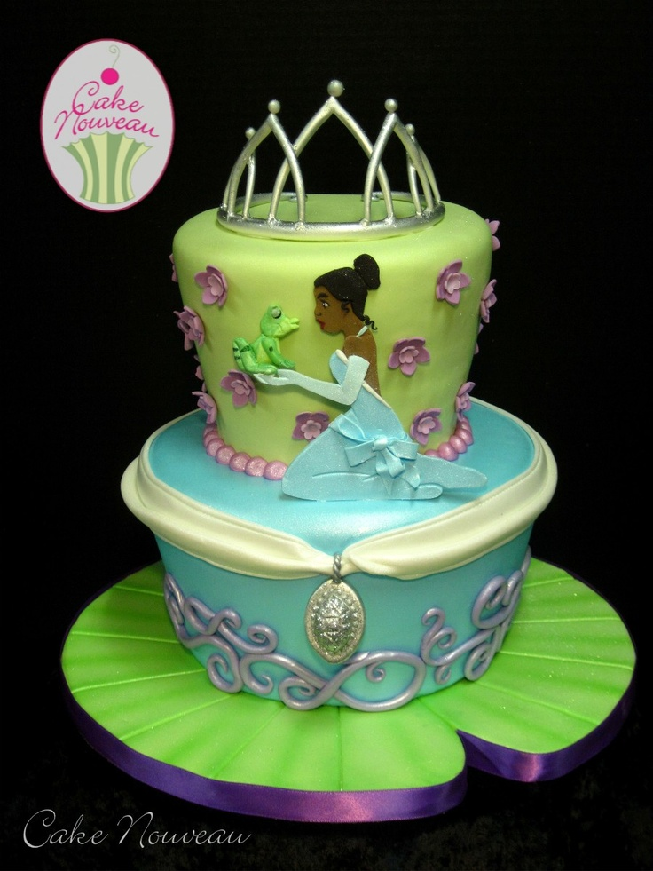 36 Best Princess Amp The Frog Cakes Images On Pinterest