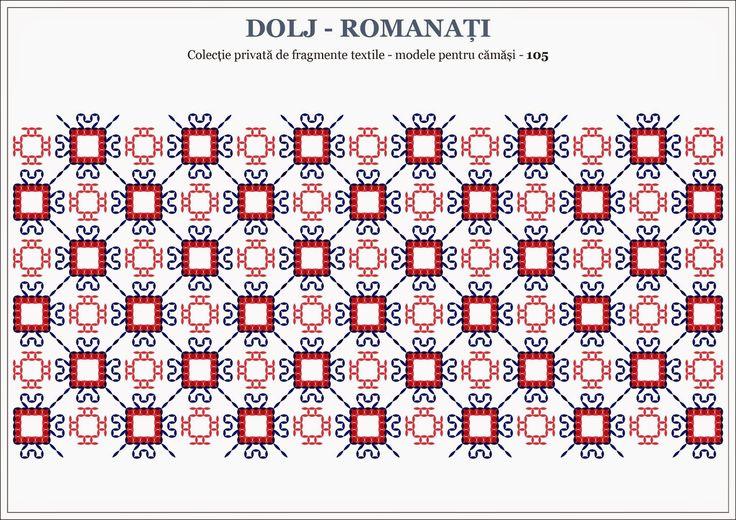 Semne Cusute: Romanian traditional motifs - OLTENIA