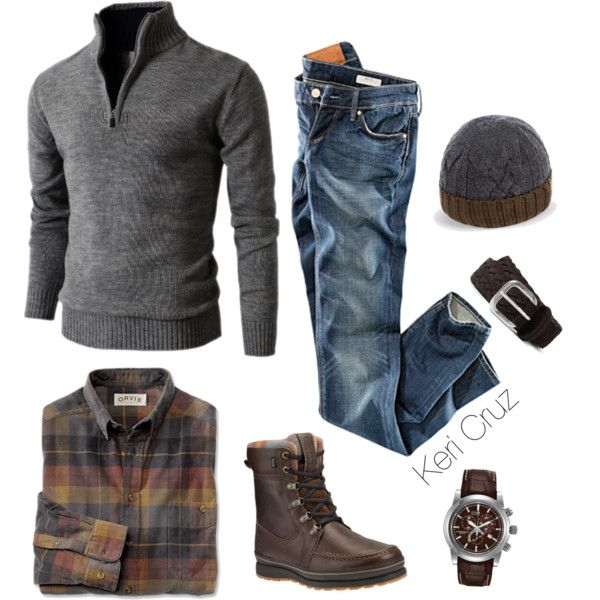 Rugged by keri-cruz on Polyvore featuring H&M, Citizen, Paul Smith and Anderson's Belts