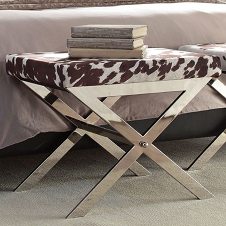 Add Some Functional Beauty To Your Home With This Cowhide