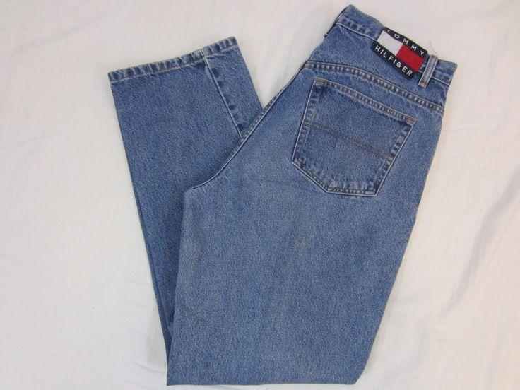Women's Tommy Hilfiger Denim Five Pocket Jeans Size 12  #TommyHilfiger #Relaxed