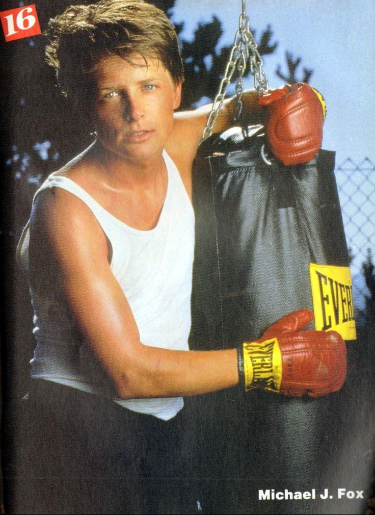 Michael J Fox 16 Magazine August 1987 80 S People