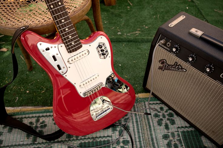 Make your own kind of music  #Fender #FenderJaguar #Jaguar #Guitar #Guitars #Music #Friday #TGIF #Weekend #Musician #GuitarPlayer #Guitarist #Electric #Amp