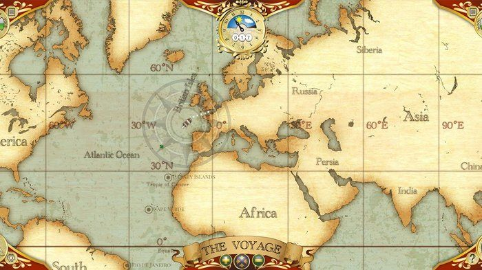 Convict voyages - History (5,9)