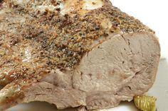 oven roasted rack of pork