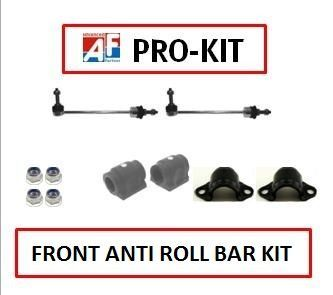 KIT604 FRONT ANTI ROLL BAR OVERHAUL KIT CONTAINS 2 MEYLE HD STABILISER LINKS 2 ANTI ROLL BAR BUSHES 2 ANTI ROLL BAR BUSH CLAMPS 4 NUTS FOR THE CLAMPS