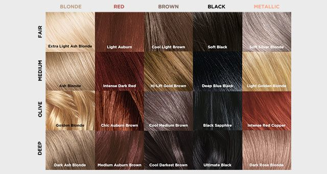 Our L Oreal Paris Superior Preference Hair Color Chart L Oreal Paris Loreal Hair Color Hair Dye Color Chart Hair Color Chart