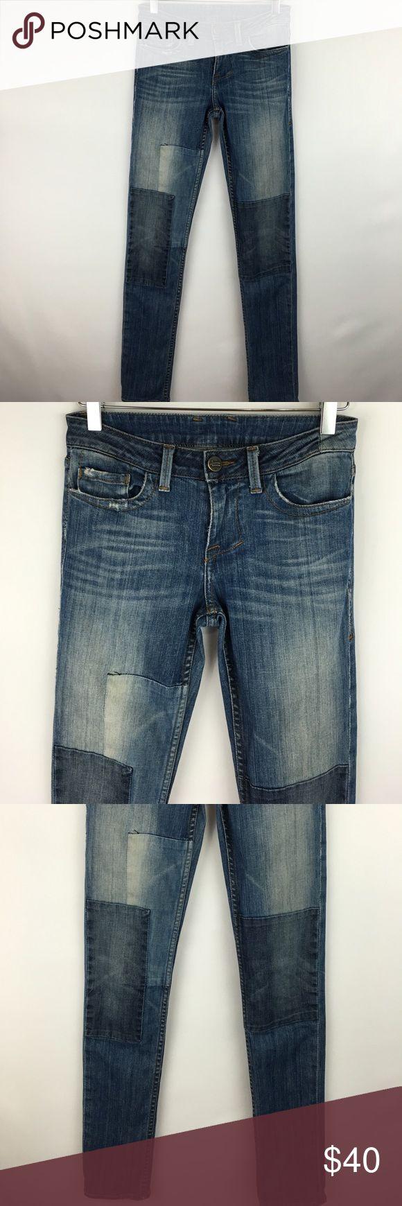 William Rast patchwork skinny jean sz 25 William Rast patchwork skinny jean sz 25. Gently worn in great condition. William Rast Jeans Skinny
