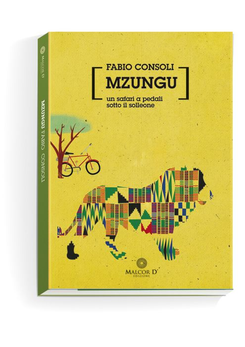Book cover. Mzungu.