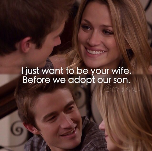 Clay Evans and Quinn James. Clinn. One Tree Hill. Robert Buckley. Shantel VanSanten. OTH.