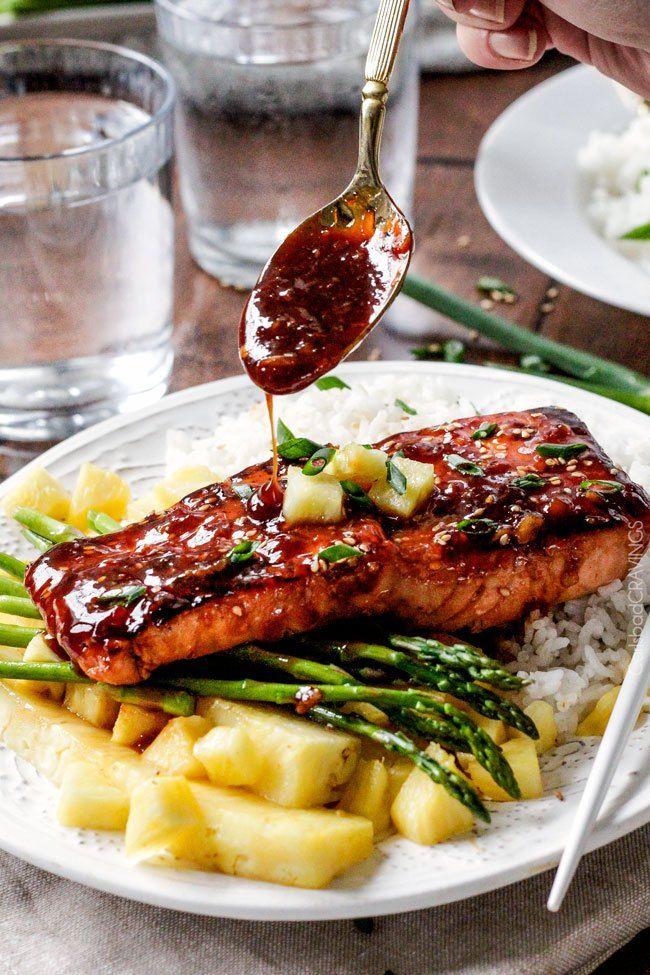 Takto jste lososa zaručeně ještě nejedli. Je lehce restovaný, maso se krásně…