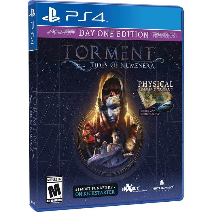 Torment: Tides of Numenera Day One Edition - PlayStation 4, TTON-D1-US