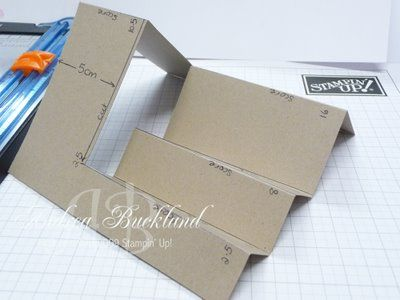 Creating Cards with Andrea: Side Step Card Tutorial