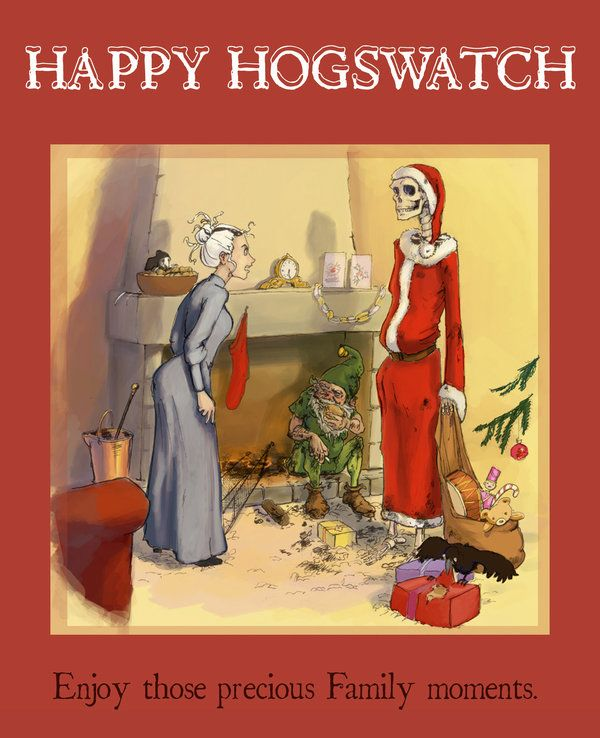 Hogswatch card by *Pika-la-Cynique on deviantART