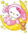 Gif Animate Hello Kitty ~ Il Magico Mondo dei Sogni