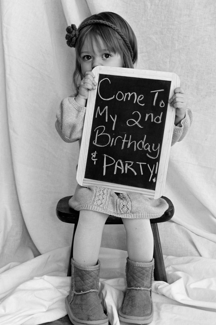 Birthday invite
