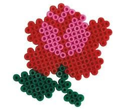 strijkparels bloem