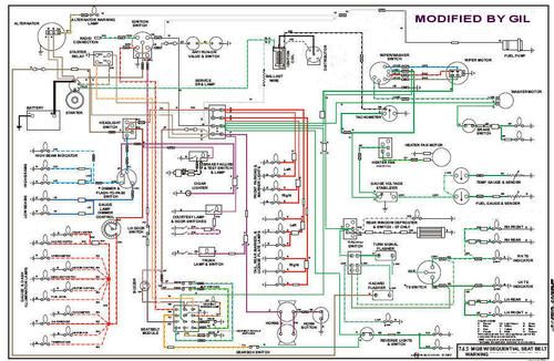 Mgb Wiring Diagram from i.pinimg.com