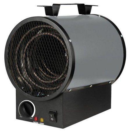 King PGH2440TB 240V 4000W Portable Shop Heater, Grey, Gray